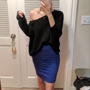 Pre-loved H&M Pencil Skirt in Royal Blue